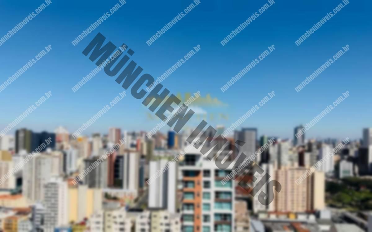 Apartamento studio, centro, Mid home, totamente mobiliado, andar alto, 33 m² privativos, 1 vaga de garagem, próximo shopping Curitiba