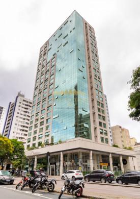 Sala comercial Helbor champagnat, andar alto, 41 m² privativos, 2 banheiros, 1 vaga de garagem, próximo Barigui.