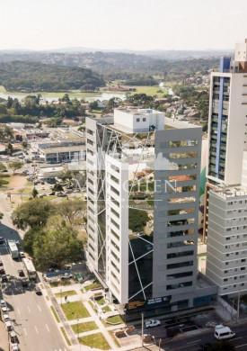 Laje corporativa BBC, 321 m² privativos 2 vagas, próximo ao parque barigui