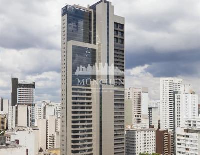 Sala comercial UNIVERSE LIFE SQUARE, CENTRO/BATEL, edifício mais alto de Curitiba, 60 m² privativos
