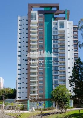 Apartamento ecoville, face norte, 3 suítes 144 m² privativos, 2 vagas.