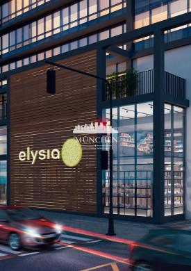 Apartamento studio Elysia centro, 30 m² privativos.