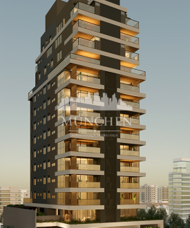Apartamento tokaii agua verde, 145 m² privativos, 3 suítes e 2 vagas de garagem.