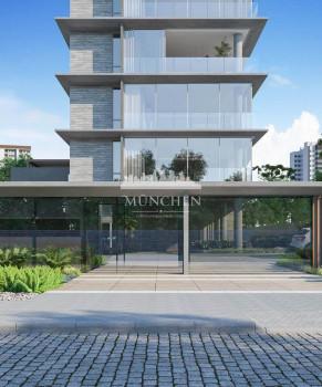 Apartamento VIGO BATEL, face norte, 4 suítes, 372 m² privativos, 5 vagas de garagem em frente a praça espanha.
