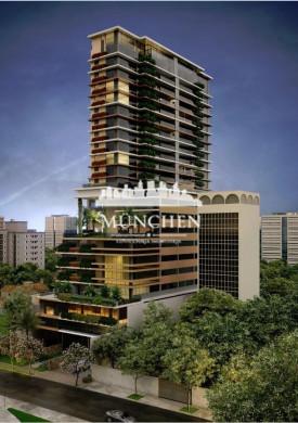 Apartamento SERRA JUVEVE, vista esplenderosa, 4 suítes, 219 m² privativos, 3 vagas de garagem.