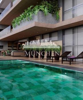 Apartamento garden SERRA JUVEVE, 3 suítes, 408 m² privativos, sendo 214 de área interna, 3 vagas de garagem.