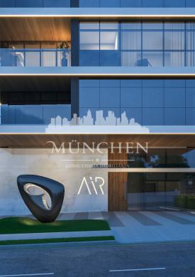 Cobertura PENTHOUSE AIR CABRAL, 3 Suítes, sendo 1 Master, 320 m² Privativos, 85 m² terraço, 3 vagas de garagem.