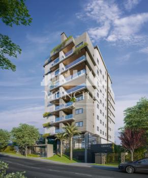 Apartamento GRIGIO Agua verde, 3 dormitórios sendo 1 suíte, 105 m² privativos, 2 vagas de garagem.