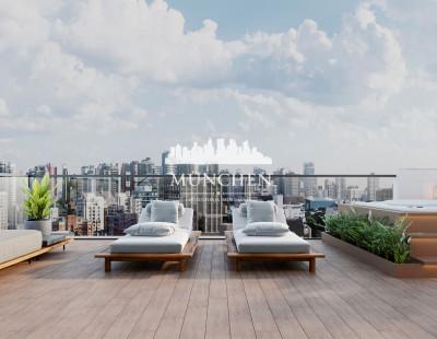 Cobertura SOHO 2525, Batel, bigorrilho, 3 suítes, 195 m² privativos, 3 vagas de garagem.