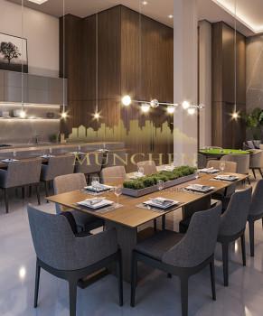 Apartamento MIRAGE SILVA JARDIM, Batel/Agua verde, 3 suítes, 150 m² privativos, 3 vagas de garagem