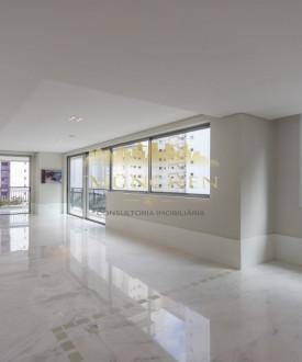 Apartamento Rio Rhône, batel, face norte, 3 suítes, 300 m² privativos, 4 vagas de garagem.