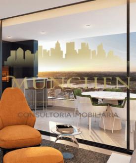Apartamento CASA MILANO, bigorrilho/champagnat,126 m² privativos, 2 suítes, hall privativo, lavabo, sala em três ambientes integrada com a cozinha e varanda gourmet com churrasqueira a carvão, 2 vagas de garagem