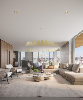 Cobertura duplex PINAH BIGORRILHO/CHAMPAGNAT, 4 suítes, 446 m² privativos, sendo 63 m² terraço, 4 vagas de garagem.