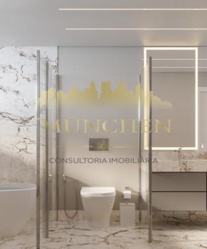 Apartamento PINAH BIGORRILHO/CHAMPAGNAT, 4 suítes, 169 m² privativos, 3 vagas de garagem.
