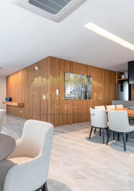 Apartamento garden RIO RHÔNE, 3 SUÍTES, 307m² de área privativa + 270m² de área descoberta + 10m² de depósito, 5 vagas de garagem.