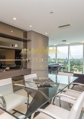 Apartamento kandinski Cabral, mobiliado, andar alto, ensolarado, 3 suítes, 176 m² privativos, 2 vagas